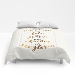 The Five Solas of the Reformation Comforters