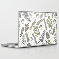 forrest Laptop & iPad Skins featuring Forrest by Hennel Paper Co.