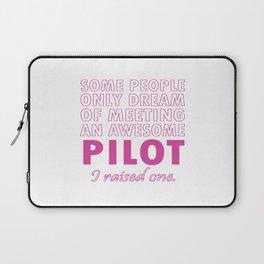PILOT'S MOM Laptop Sleeve