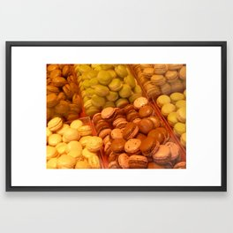 Macarons galore Framed Art Print
