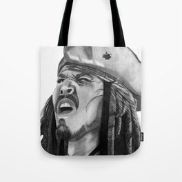 Jack Sparrow - I Wash My Hands Of This Weirdness Tote Bag