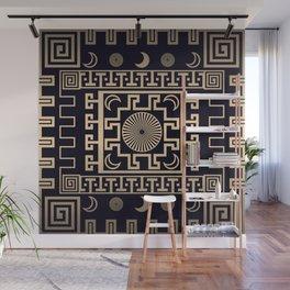 Midnight - Greek Seamless Design Wall Mural