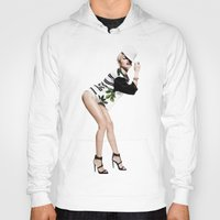 miley Hoodies featuring Miley by eriicms