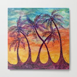 Tropical Vision Metal Print