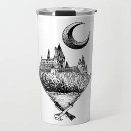 The wizards castle Travel Mug
