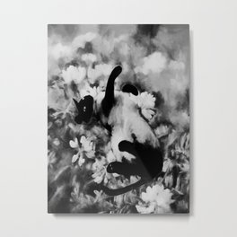 Sulley's Dream BW Metal Print