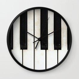 Lost melodies Wall Clock