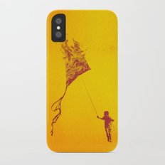 Playing with Fire Slim Case iPhone X