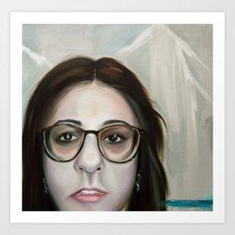 Lauren Nemchik - Abstract Antlers Art Print