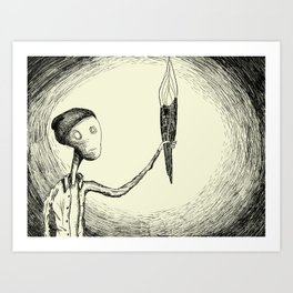 There's Nothing Here Art Print