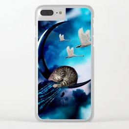 Cute little kitten Clear iPhone Case