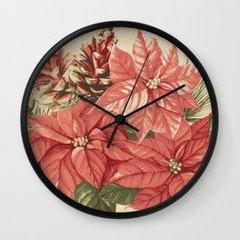 Vintage Christmas 30 Wall Clock