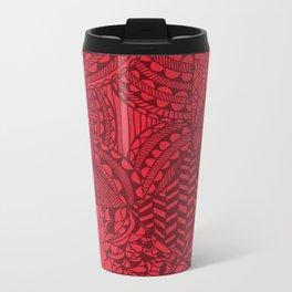 Red Zen Metal Travel Mug