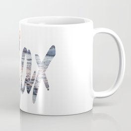 Time to Relax at Sunset on the Beach Coffee Mug