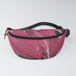 Tropical Pink Plant Fanny Pack
