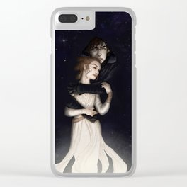 There is no light without darkness Clear iPhone Case