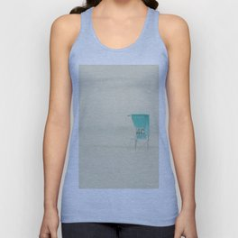 waiting for a gift from the sea ... Unisex Tank Top