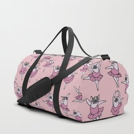 Ballet French Bulldog Duffle Bag