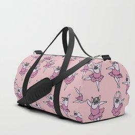 Ballet French Bulldog Duffle Bag