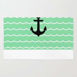 ANCHOR  WAVE Rug