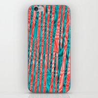 community iPhone & iPod Skins featuring Gated Community by RingWaveArt