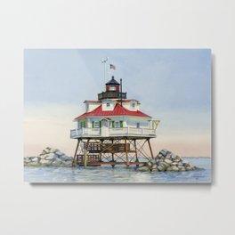 Thomas Point Light Metal Print