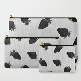 black strawberries Carry-All Pouch