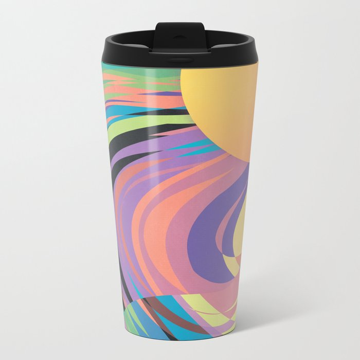 Magnetic Storm Metal Travel Mug