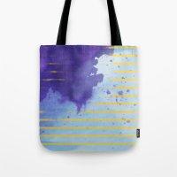 rorschach Tote Bags featuring Rorschach by Sonia Garcia