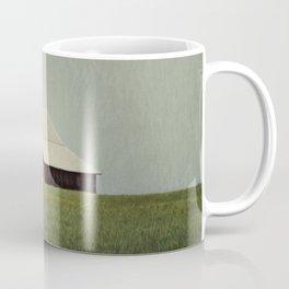 Red Barn Blue Sky Coffee Mug