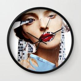 Make me beautiful | Collage Wall Clock