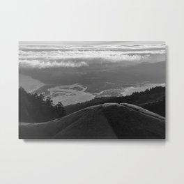 Overlooking Stinson Beach Metal Print