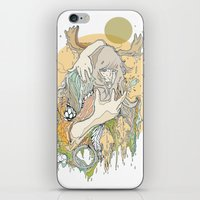 moss iPhone & iPod Skins featuring moss by Cassidy Rae Marietta