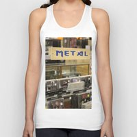 metal Tank Tops featuring Metal by Bingz