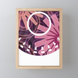 PATTERN-1 Framed Mini Art Print