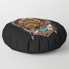 The Mask Dancer Floor Pillow