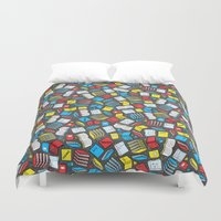 study Duvet Covers featuring Study Time by robyriker