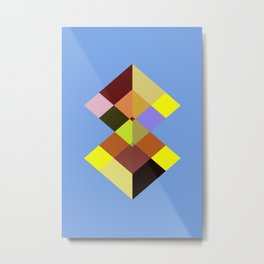 Abstract #727 Metal Print