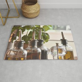 Olive and basilicum Rug