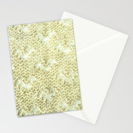 Lace knitting detail Stationery Cards