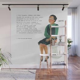 Rosa Parks Wall Mural