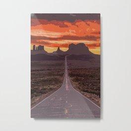 Arizona, Monument Valley Metal Print