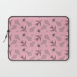 Space Planes & Shooting Stars - Pink Laptop Sleeve
