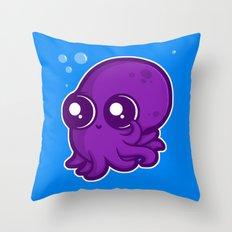 Super Cute Squid Throw Pillow