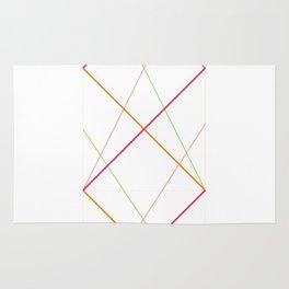 x pattern x&0 Rug