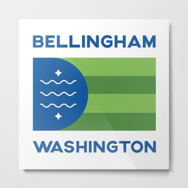 Bellingham, Washington Metal Print