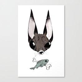 Ugly Ass Dog 2.5 Canvas Print