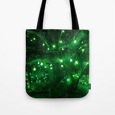 Light bulb garden Tote Bag