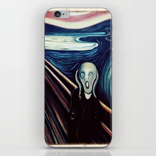 The Scream  iPhone & iPod Skin