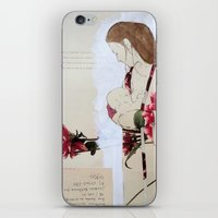 bond iPhone & iPod Skins featuring Bond by Suzanna Schlemm
